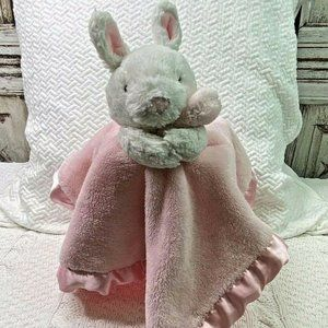 Carters Bunny Rabbit Lovey Pink Security Blanket